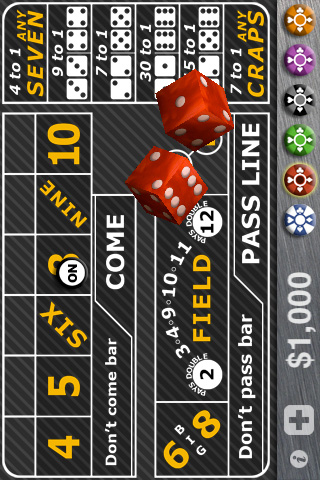 Screenshot Casino Craps Pro 3D